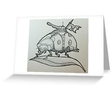 One tough Lady Greeting Card