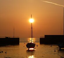Harbour Spring Sunrise by Aoife McNulty