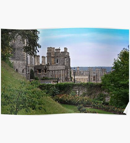 Castillo de Windsor...........................................Londres. Poster