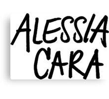 Alessia Cara Logo 2 (Bold) Canvas Print