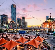 Fed Square, Melbourne by Ray Warren