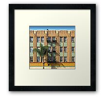 Los Angeles Facade Framed Print