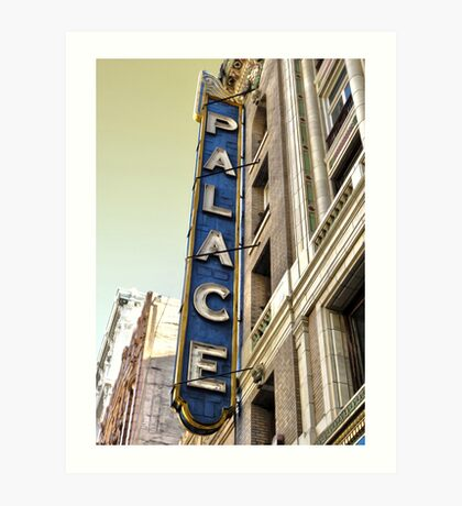 Palace Theater Art Print