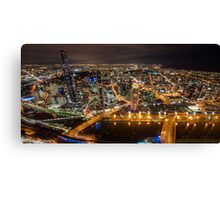 Melbourne Fires Up Canvas Print
