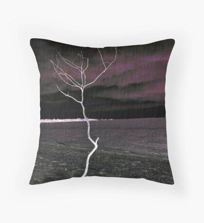 The Courage to Stand Throw Pillow