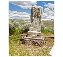 Bodie Ghost Town Boot Hill Poster