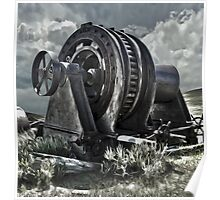 Bodie Ghost Town, Mining Equipment Poster