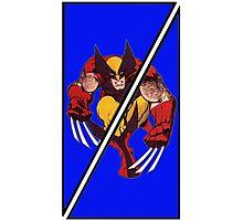 Wolverine Sliced (Geometric) Photographic Print