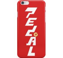 PEDAL Furious iPhone Case/Skin