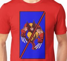 Wolverine Sliced (Geometric) Unisex T-Shirt