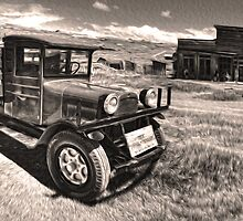 Bodie Ghost Town, Old Truck by GregorDyer