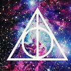 Harry Potter Galaxy Case by boundbybooks
