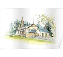 Church St, Ross by Muriel Sluce Poster
