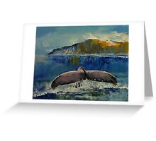 Whale Song Greeting Card