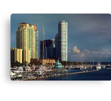 Miami Beach Before Sunset  Canvas Print