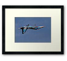 Fighter jet. Framed Print