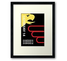 Germany 2014, World Cup QFD Framed Print