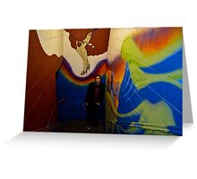 Awash in Color Greeting Card