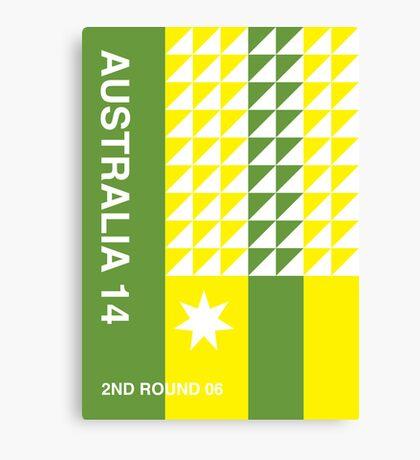 Australia 2014, World Cup QFD Canvas Print