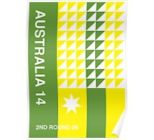 Australia 2014, World Cup QFD Poster