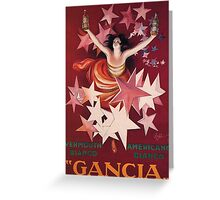 Gancia Greeting Card
