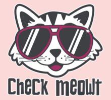 Check Meowt by DetourShirts