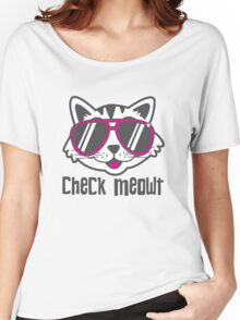 Check Meowt Women's Relaxed Fit T-Shirt