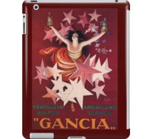 Gancia iPad Case/Skin