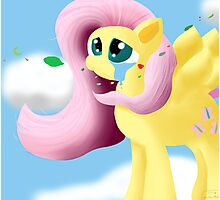 They Live in You, Fluttershy. Photographic Print