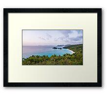 Trunk Bay St. John Framed Print