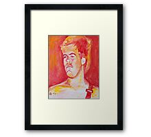 Young Bradley of Sublime in oil painting! Framed Print