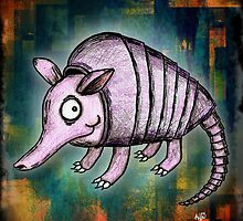 Archie the Armadillo by Studio8107
