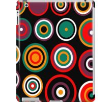 pop art circles 1 iPad Case/Skin