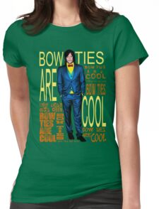 Bowties Are Cool Reedus Edition Womens Fitted T-Shirt