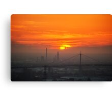 Summer Scorcher V Canvas Print