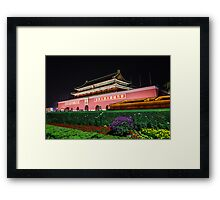 The Gate of Heavenly Peace? Framed Print