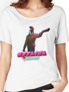 Richard (Hotline Miami) Women's Relaxed Fit T-Shirt