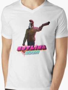 Richard (Hotline Miami) Mens V-Neck T-Shirt