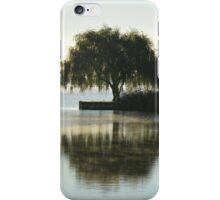 Salix Babylonica - Weeping Willow | Water Mill, New York iPhone Case/Skin