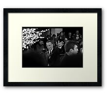 Mr Hanks Framed Print