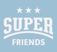 Super Friends (White) Kids Clothes