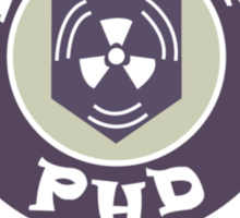 PH D Flopper Sticker