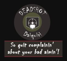 Deadshot Daiquiri soda by Steven Hoag