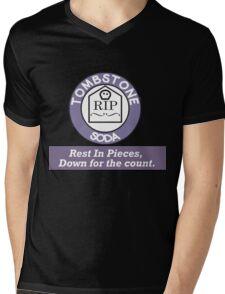 Tombstone soda Mens V-Neck T-Shirt