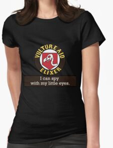 Vulture Aid soda Womens Fitted T-Shirt