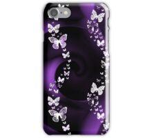 Purple Butterflies iPhone Case/Skin