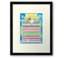 Princess and a pea Framed Print