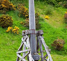 The Urquhart Catapult by Adrian Alford Photography