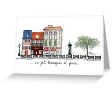 Un joli kiosque Greeting Card