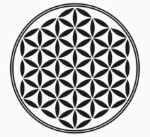 FLOWER OF LIFE - SACRED GEOMETRY - HARMONY & BALANCE Kids Clothes